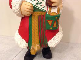 Department 56 Papier Mache Santa Figurine Hand Painted Collectable Vintage image 9
