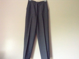 Elegant Gray Jacket and Pant Suit Inside Lining Front Pockets NO TAG image 4