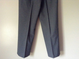 Elegant Gray Jacket and Pant Suit Inside Lining Front Pockets NO TAG image 7
