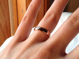 Elegant  Gold plated  Band Ring choice of size 5 6 or 7 specify at payment time image 3
