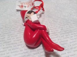 Dept 56 - Elf on the Shelf - World's Greatest Mom banner Christmas Ornament image 3