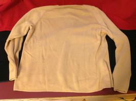 Designers Originals Ladies Light Brown Sweater Tie Closure at Neck Size Large image 7