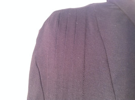 Dialogue Long Sleeve Black Soft Stretch Material Top Perfect Condition Size L image 3