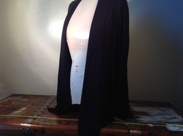 Dialogue Long Sleeve Black Soft Stretch Material Top Perfect Condition Size L image 7