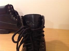 Dexter Black Combat Boots Waterproof Oil Skid Resistant Size 6.5 Wide image 5