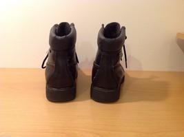 Dexter Black Combat Boots Waterproof Oil Skid Resistant Size 6.5 Wide image 3