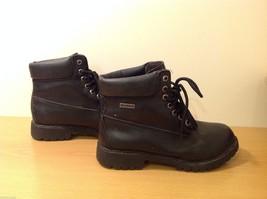 Dexter Black Combat Boots Waterproof Oil Skid Resistant Size 6.5 Wide image 4