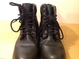 Dexter Black Combat Boots Waterproof Oil Skid Resistant Size 6.5 Wide image 8