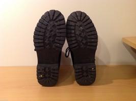 Dexter Black Combat Boots Waterproof Oil Skid Resistant Size 6.5 Wide image 6