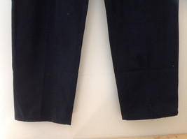 Dickies Black 3 Pocket Pleated Dress Pants Button and Zipper Closure Size 18 RG image 3