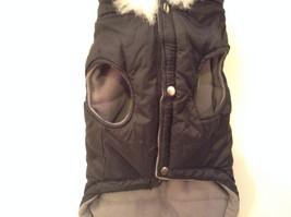 Dog It Black Winter Coat For Large Dog, Warm, Snowflakes image 3