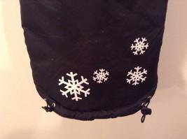 Dog It Black Winter Coat For Large Dog, Warm, Snowflakes image 8