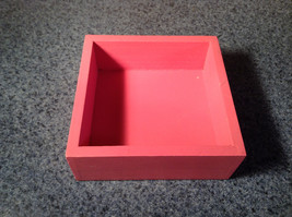 Dogs Have Owners Cats Have Staff Cute Pink Wooden Box with Lid image 2