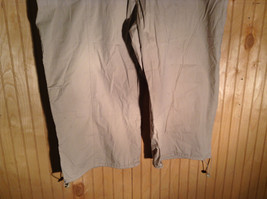 Drama Gold Beige Light Material for Summer Capris Size 26W image 3