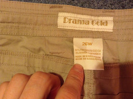 Drama Gold Beige Light Material for Summer Capris Size 26W image 6