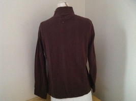Dressbarn Brown Turtleneck Long Sleeve Sweater Made in Lesotho Size Large image 5