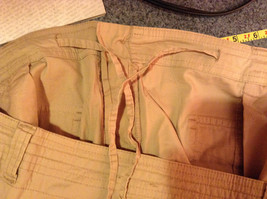 Drama Gold Beige Light Material for Summer Capris Size 26W image 7
