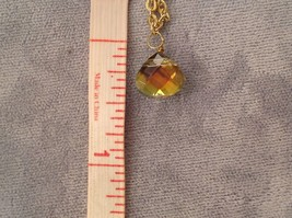 Dual Strand Elly Preston Faceted Thai Crystal Pendant Necklace 25 Inches Long image 11