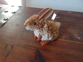 Eco-Fiber Sustainable Buri Palm Fiber Brush Rabbit Ornament Made in Philippines image 3