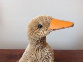 Eco-Fiber Sustainable Buri Palm Fiber Brush Duck Decoration Made in Philippines image 5