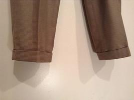 Eddie Bauer Light Brown 100 Percent Cotton Pleated Front Dress Pants Size 33W image 4