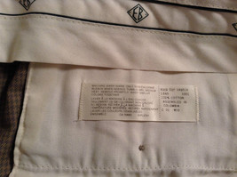 Eddie Bauer Light Brown 100 Percent Cotton Pleated Front Dress Pants Size 33W image 8
