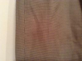 Eddie Bauer Light Brown 100 Percent Cotton Pleated Front Dress Pants Size 33W image 3