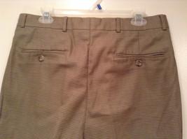 Eddie Bauer Light Brown 100 Percent Cotton Pleated Front Dress Pants Size 33W image 6