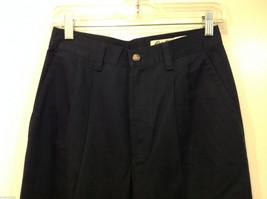 Eddie Bauer Womens Classic Fit Wrinkle Resistant Navy Blue Black Pants, Size 8 image 3