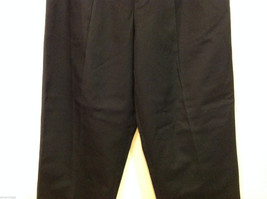 Eddie Bauer Womens Classic Fit Wrinkle Resistant Navy Blue Black Pants, Size 8 image 4