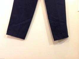 Eddie Bauer Womens Classic Fit Wrinkle Resistant Navy Blue Black Pants, Size 8 image 8