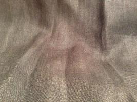 Edward Irish Linen Black 100 Percent Linen Button Down Shirt Size Small image 8