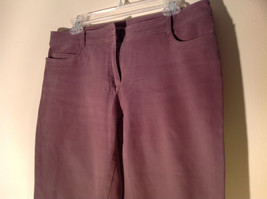 Eileen Fisher Size Medium Gentle Brown Pants Nice Fabric Good Condition image 2