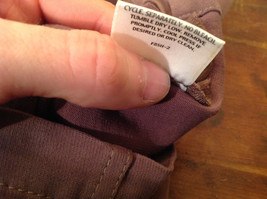 Eileen Fisher Size Medium Gentle Brown Pants Nice Fabric Good Condition image 10