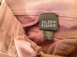 Eileen Fisher Size Medium Gentle Brown Pants Nice Fabric Good Condition image 8