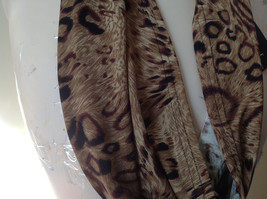 Elegant Leopard Print Fashion Infinity Scarf from The Magic Scarf Company image 2