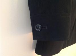 Elegant Francess and Rita Black Button Up Pocketed Blazer Front Pockets Size 6 image 5