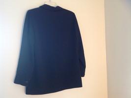 Elegant Francess and Rita Black Button Up Pocketed Blazer Front Pockets Size 6 image 6