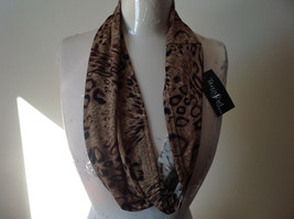 Elegant Leopard Print Fashion Infinity Scarf from The Magic Scarf Company image 4