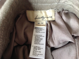 Forever 21 Tan Flow Pants with Fold Over Fabric Waistband Pockets Size Medium image 8