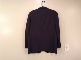 Emanuel Ungaro Dark Brown Jacket and Pant Suit 100 Percent Wool Size 42 by 36 image 3