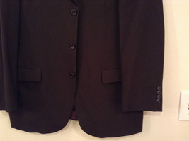 Emanuel Ungaro Dark Brown Jacket and Pant Suit 100 Percent Wool Size 42 by 36 image 8