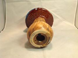Enesco Tall Ceramic Mushroom Figurine Choice of Blue Cap OR Yellow Green Cap image 5