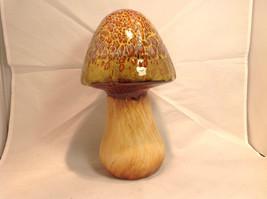 Enesco Tall Ceramic Mushroom Figurine Choice of Blue Cap OR Yellow Green Cap image 8