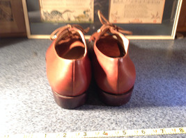 Enzo Angiolini Dress Shoes Brown Leather with Suede Top Size 9.5 Good Condition image 6