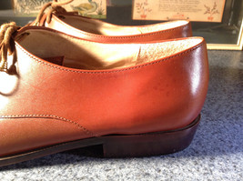 Enzo Angiolini Dress Shoes Brown Leather with Suede Top Size 9.5 Good Condition image 8