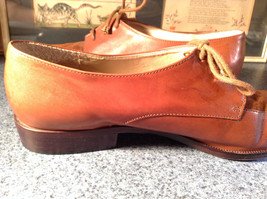 Enzo Angiolini Dress Shoes Brown Leather with Suede Top Size 9.5 Good Condition image 9