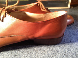 Enzo Angiolini Dress Shoes Brown Leather with Suede Top Size 9.5 Good Condition image 12