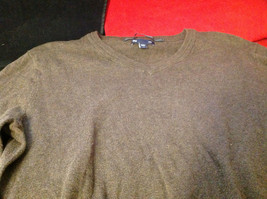 GAP Womens Brown V Neck Sweater size XS Extra Small image 6