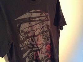Express Black T Shirt Gray Design on Front 100 Percent Cotton Soft Size Medium image 3